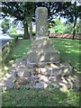 SJ8870 : Ancient Cross, Gawsworth by David Weston