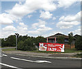 TL1555 : Travelodge, Chawston by Adrian Cable