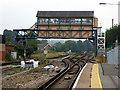 TR1458 : The imposing Canterbury West signal box : Week 32