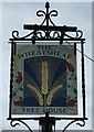 TL1653 : Sign for the Wheatsheaf, Church End by JThomas