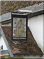 TM2863 : White Horse Public House sign by Adrian Cable