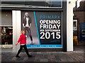 H4572 : Notice, Primark opening, Omagh : Week 34