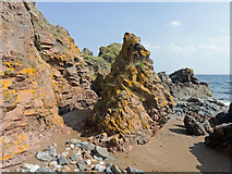 NH7661 : The tidal section of the Eathie to Hillockhead coastal walk by Julian Paren