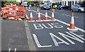J3674 : EWAY works, Upper Newtownards Road, Belfast - August 2015(6) by Albert Bridge
