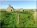 ND3678 : Ruined Croft Near Rocky Shore by Rude Health