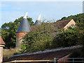 SO7147 : Oast House at Hope End Farm, Ridgeway Cross, Cradley by Oast House Archive