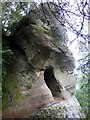 NU0609 : Macartney's Cave, Thrunton Wood by Andrew Curtis