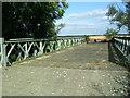 TL1973 : Alconbury wide Bailey Bridge by pablo haworth
