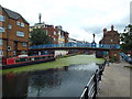 TQ2482 : Grand Union Canal at Kensal Town by Malc McDonald