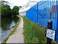 SP1383 : Towpath along the Grand Union Canal by Mat Fascione