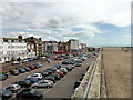 TQ7407 : De La Warr Pavilion Car Park by PAUL FARMER