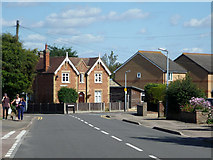 TL2136 : A corner house, Stotfold by Robin Webster