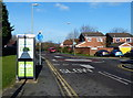 SK5608 : Mini-roundabout on Astill Lodge Road by Mat Fascione