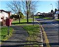 SK5608 : Postbox along Astill Lodge Road by Mat Fascione