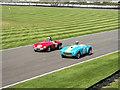 SU8707 : Practice Race, Goodwood Revival 2015 by Christine Matthews