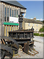 SK2268 : Rutland Mill water turbine by Chris Allen