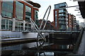 SP0687 : Canal footbridge by N Chadwick