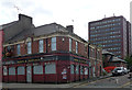 Dist:0.1km<br/>Yet another vanquished pub, in another life the British Lion but now bereft of roar.
