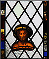 TL6254 : St Mary, Brinkley - Stained glass window by John Salmon