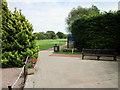 SJ4873 : Footpath through Helsby Golf Club by Jeff Buck