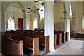TL6156 : St Mary, Westley Waterless - West end by John Salmon