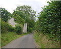 ST5360 : Derelict Barn at Plaster's Green by Nigel Mykura