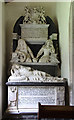 TL6459 : St Peter, Stetchworth - Monument by John Salmon