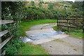 SX0862 : Trebyan Ford by John Walton