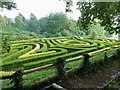 SO8610 : Painswick Rococo Gardens - Maze by Rob Farrow