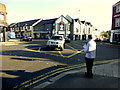 H4572 : Waiting for the traffic lights to change, Omagh by Kenneth  Allen