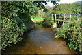 SW8666 : Ford at Gluvian Farm by John Walton