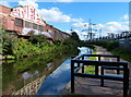 SP1089 : Factories along the Birmingham & Fazeley Canal by Mat Fascione