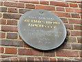 Photo of James Nicholl Morris stone plaque