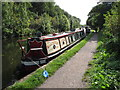 TQ0586 : Yeoman, narrowboat on Grand Union Canal by David Hawgood