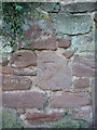 SJ5012 : Forgotten OS benchmark - Shirehall, south side of Abbey Foregate by Richard Law