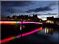 NH6645 : Ness Bridge, Inverness by John Lucas