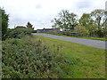 TL3678 : Bridge over former railway in Somersham, Cambridgeshire by Richard Humphrey