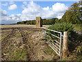 NT8858 : Field with bales at Blackburn Farm : Week 41