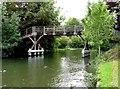 SU8284 : Footbridge over the River Thames by Steve Daniels