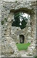 TQ4109 : St Pancras Priory, Lewes - A view through the walls by Rob Farrow