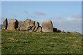 NJ5527 : Ardlair Recumbent Stone Circle (2) by Anne Burgess