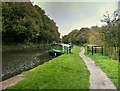 SD5407 : Leeds and Liverpool Canal at Gathurst by David Dixon