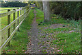 SU8771 : Footpath near Warfield by Alan Hunt