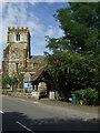 SP9436 : Lych gate, St Botolph's Church, Aspley Guise by JThomas