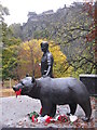 NT2573 : Wojtek in Princes Street Gardens : Week 45