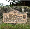 TG2502 : RAF Stoke Holy Cross - memorial by Evelyn Simak