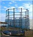 TQ3303 : Black Rock Gas Holder, Brighton : Week 45