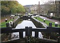 SD9927 : The Rochdale Canal in Hebden Bridge by Dave Pickersgill