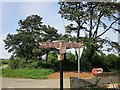 ST5163 : Signpost by Rookery Nook by Derek Harper