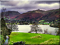 NY3306 : Grasmere, Looking North towards the Village by David Dixon